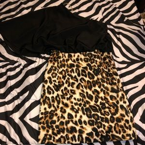 Cheetah Party Dress